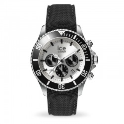 Ice wATCH steel 016302 black silver chrono