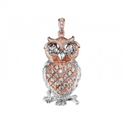 Julie Julsen Julie Julsen Owl pendant JJDPE0444.4 Dancing Stone pendent collection
