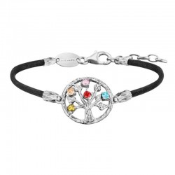 Julie Julsen bracelet JJBR0256.1 tree of life in silver