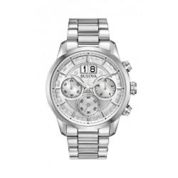 Orologio Bulova collezione Sutton Classic 96B318 Cronografo Gran Data a ore 12