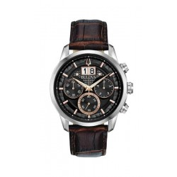 Bulova Watch 98b311 Mens Classic Watch CHRONOGRAPH oversized date