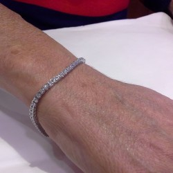 bracciale tennis diamanti reggio emilia D-TEN05