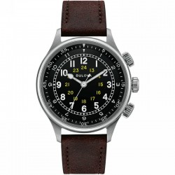Bulova Watch Military collection Pilot A15 96a245 automatic movement