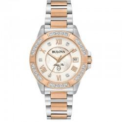 Orologio Bulova 98R234 collezione donna Marine Star con diamanti
