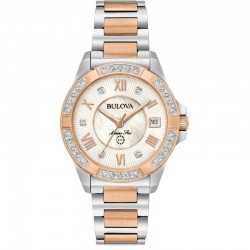 Bulova watch 98R234 Marine Star Diamonds collection