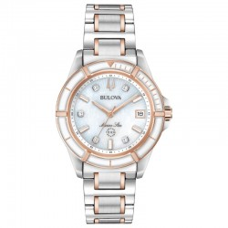 Bulova watch 98P187 Marine Star Diamonds collection