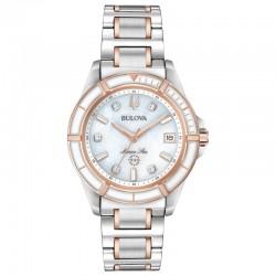 Bulova watch 98P187 Marine Star Diamonds collection