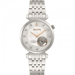 Bulova 96P222 Ladies Classic Watch Regatta collection with diamonds automatic