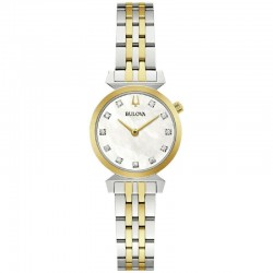 Bulova 98P202 Ladies Classic Watch Regatta collection with diamonds