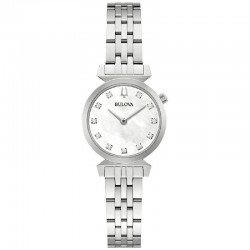 Bulova 96P224 Ladies Classic Watch Regatta collection with diamonds
