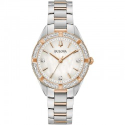 Bulova 98R281 Ladies Classic Watch Sutton collection with diamonds