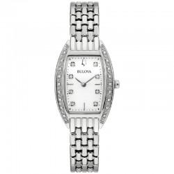 Bulova 96R244 Orologio Donna Con Diamanti collezione Classic rettangolare