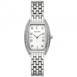 Bulova 96R244 Ladies Classic Watch collection with diamonds