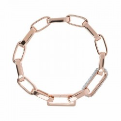 Bronzallure bracelet ref. BZ01871 in 18k rose gold plated