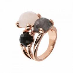 Bronzallure ring ref. BZ01668 in 18k rose gold plated