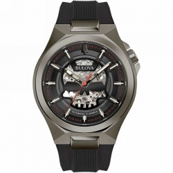 Bulova Maquina watch collection 98A260, 60 Hour Power Reserve Automatic