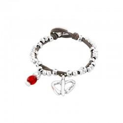 Uno de 50 Bracelet FREE HEARTS Collection pul2031rojmtl0m