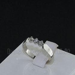 TRILOGY DIAMONDS Ring in gold 18 karat D3367TR15
