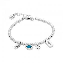 Uno de 50 Bracelet MY LUCK I'M WAITING 4 U Blue Collection pul1854tqsmtl0m