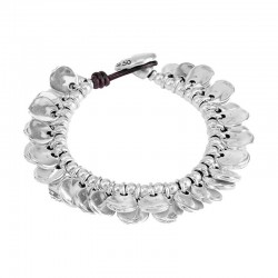 Uno de 50 Bracelet CHAPA-RRÓN Collection pul0797mtlmar0m