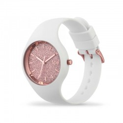 Ice Watch GLITTER small collection 001343 white strap