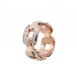 Bronzallure ring ref. BZ01479 in 18k rose gold plated