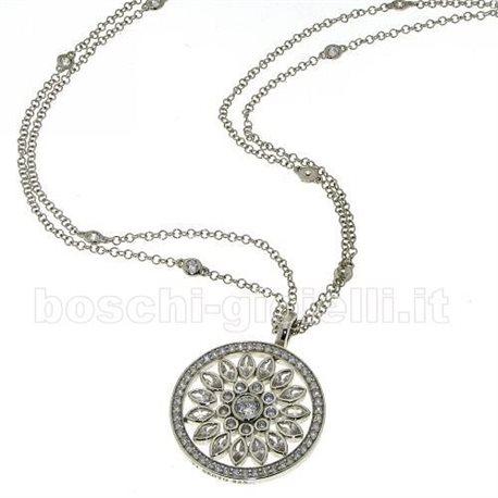 TI SENTO MILANO 6716zi silver chain with pendent