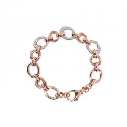 Bronzallure bracelet ref. BZ01846 in 18k rose gold plated