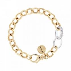 Bronzallure bracelet ref. bz00830y in 18k yellow gold gold plated
