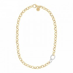 Bronzallure necklace ref. BZ00829Y in 18k yellow gold plated