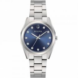 Bulova 96P229 watch lady Surveyor diamonds collection