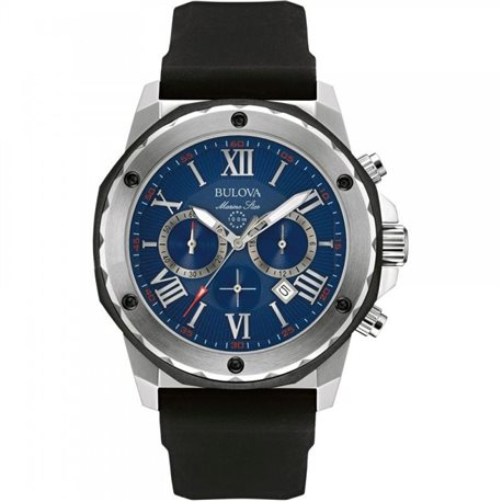 BULOVA 98b258 watches man chronograph marine star