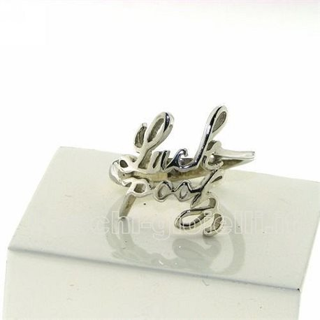 NAME AND PHRASE ag3-2n jewelry ring with 2 names