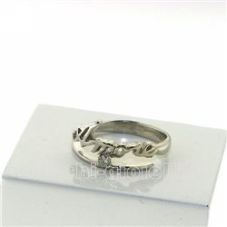 Nomi e frasi ag3-3br5 anello con nome in argento