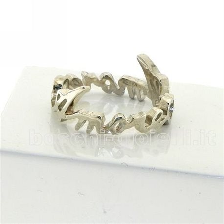 NAME AND PHRASE ag3-4et jewelry ring eternity