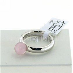 Ti Sento Milano 1444cp anello argento zircone rosa