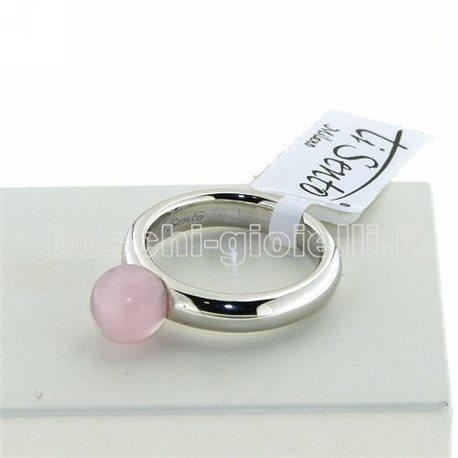 TI SENTO MILANO 1444cp jewelry rings pink zircon