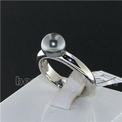 Ti Sento Milano 1444pg anello argento perla grigia