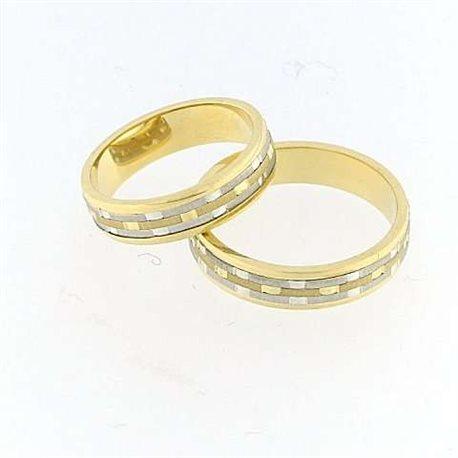 design senza tempo 6c65a 61bcd fedina fidanzamento bert4500g oro bianco giallo altezza 5mm