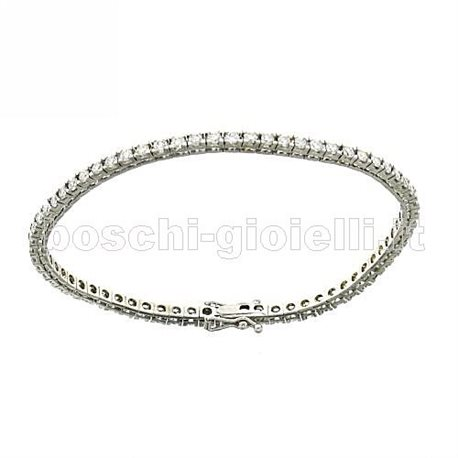 OUR CREATIONS tennis bracelet with diamonds bosmon3065p3