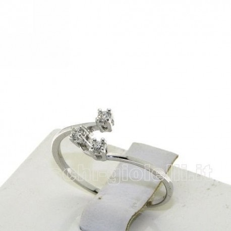 OUR CREATIONS ring petite trilogy diamonds bosmont4552