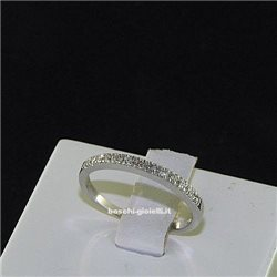 OUR CREATIONS ring riviere collection bosmont4574an