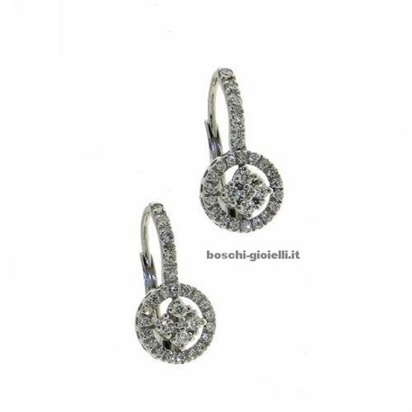 OUR CREATIONS jewelry earrings eternity collection bosmont4624or