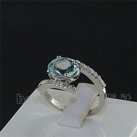 OUR CREATIONS ring aquamarine gemstones bosmont4719