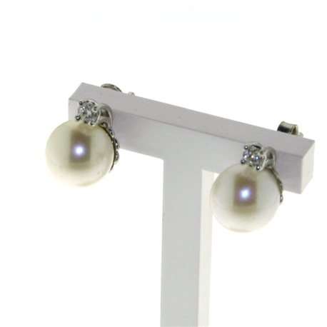 OUR CREATIONS jewelry earrings pearls collection bosmont4958or