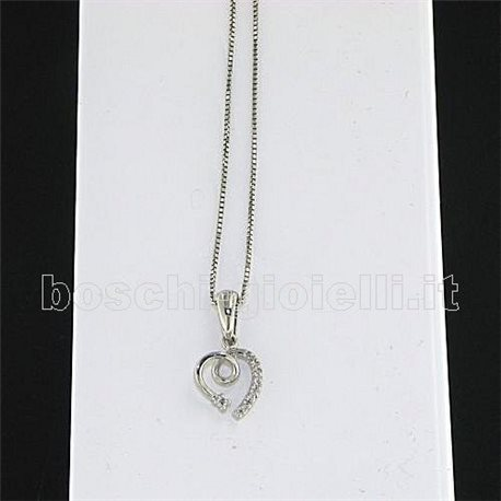 OUR CREATIONS chain with pendent heart love collection bosmont5070