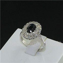 Nostre creazioni anello kate zaffiro blu diamanti br064h