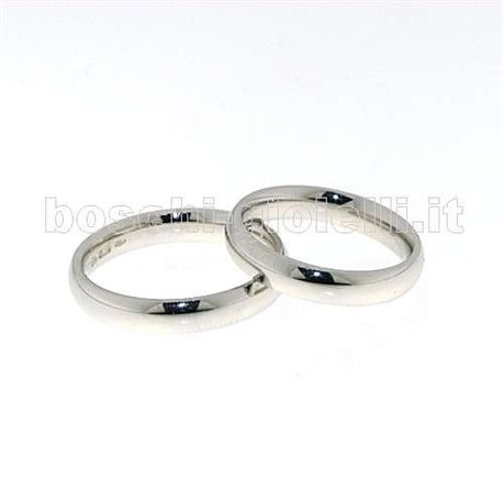 UNOAERRE cb4mm jewelry wedding rings