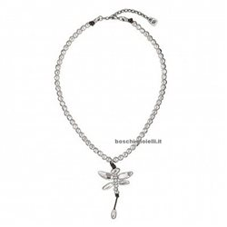UNO DE 50 col0977mtl0000u necklace free dragonfly