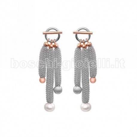 ADAMI & MARTUCCI e3m27b9pw earrings mesh classic collection